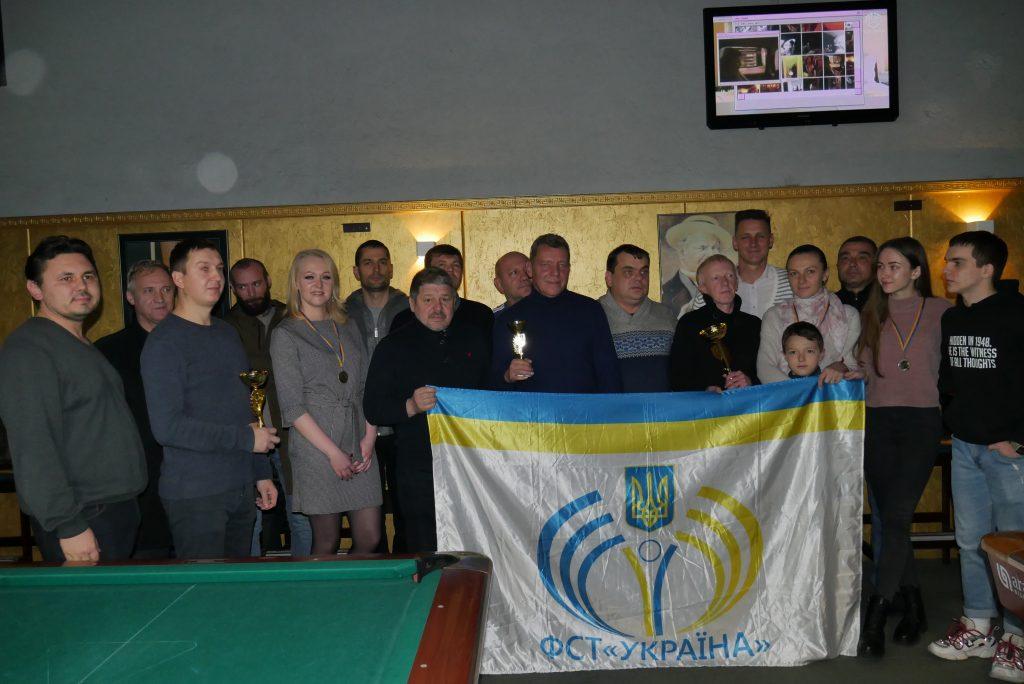 У Києві пройшов турнир з більярду КМ ФСТ «Україна»